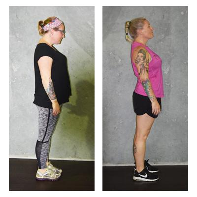 Alison 8 kilos down