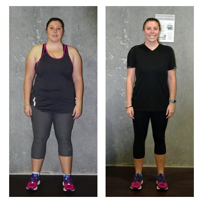 Jo lost 28 kilos