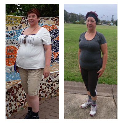 Kim lost 17 kilos
