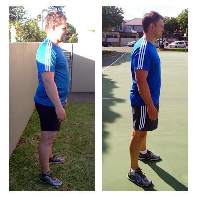 Martin lost 40 kilos