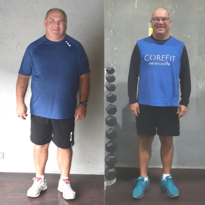 Roger lost 20 kilos