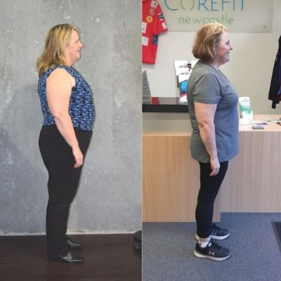 Ann lost 10 kilos